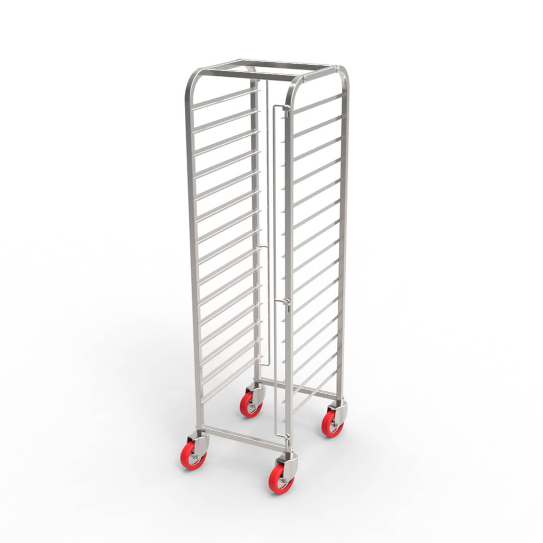 Stack trolley for confectionery by KADZAMA